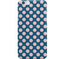 Blue and Pink Polka Dots iPhone Case/Skin