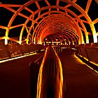 Webb Bridge, Docklands - Melbourne by Patricia Gibson