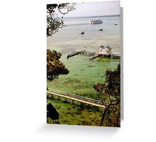 Sorrento Beach Boxes II, Mornington Peninsula, Victoria Australia Greeting Card