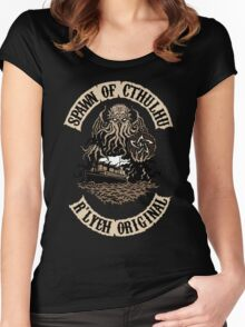 Spawn of Cthulhu - R'lyeh Original Women's Fitted Scoop T-Shirt