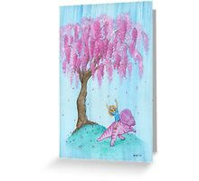 Protoceratops Willow Patch Greeting Card