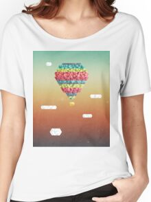 Triangular Skies Women's Relaxed Fit T-Shirt