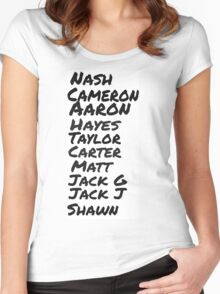 original magcon stars  Women's Fitted Scoop T-Shirt