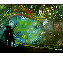 Cosmic Love Photographic Print