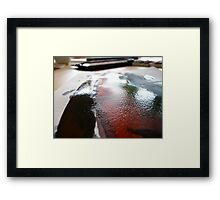 Water Paint Framed Print