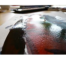 Water Paint Photographic Print