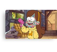 """""""I successfully bedazzled my face!""""-MABEL, GRAVITY FALLS Canvas Print"""