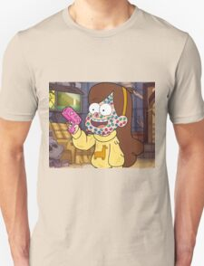 """""""I successfully bedazzled my face!""""-MABEL, GRAVITY FALLS T-Shirt"""