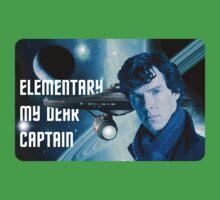 Elementary my dear Captain Kids Clothes