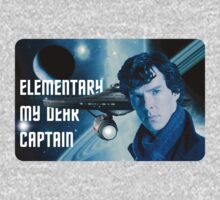 Elementary my dear Captain Kids Clothes