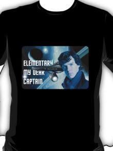 Elementary my dear Captain T-Shirt