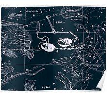 Libra Constellation Poster