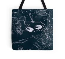 Libra Constellation Tote Bag