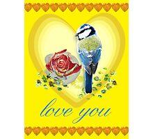 Love bird Photographic Print