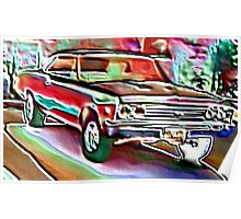 '67 Chevelle Poster