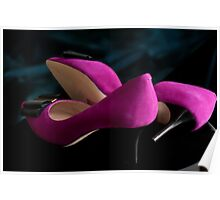 ...pink shoes.........#1 in series Poster