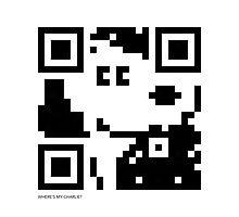 QR Code - Snoopy Photographic Print