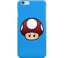 Super Mario Mushroom iPhone Case/Skin