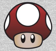 Super Mario Mushroom One Piece - Long Sleeve