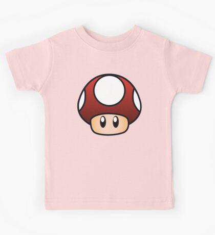 Super Mario Mushroom Kids Tee