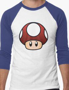 Super Mario Mushroom Men's Baseball ¾ T-Shirt
