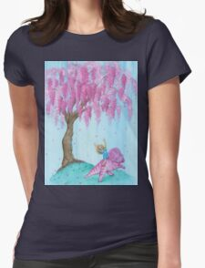 Protoceratops Willow Patch Womens Fitted T-Shirt