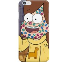 """""""I successfully bedazzled my face!""""-MABEL, GRAVITY FALLS iPhone Case/Skin"""