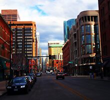 Denver Tilted by Jeffrey J. Miller