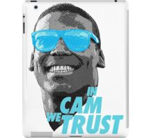 In Cam We Trust - OG 2 iPad Case/Skin
