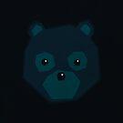 Polygon Bear by Ajan