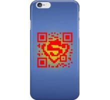 QR Code - Superman iPhone Case/Skin