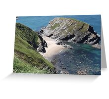 Ceredigion Coastal Path near Llangrannog  Greeting Card