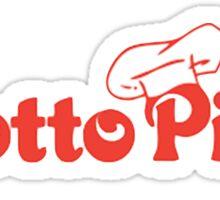 Grotto Pizza Sticker