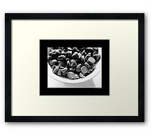 Chocolate Chips  Framed Print