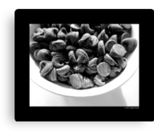 Chocolate Chips  Canvas Print