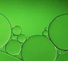 Green Bubbles by KUJO-Photo