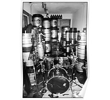 Kegs and Drums Poster