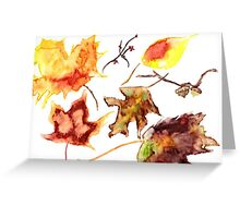 Autumn Whimsy Greeting Card