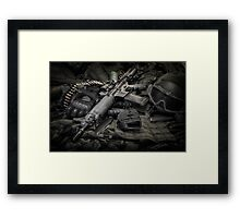 LOCK AND LOAD Framed Print