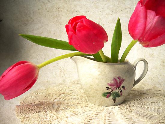Vintage Tulips. by Vitta