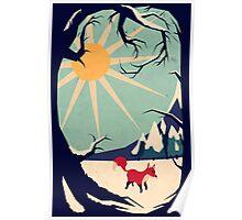 Fox roaming around II Poster