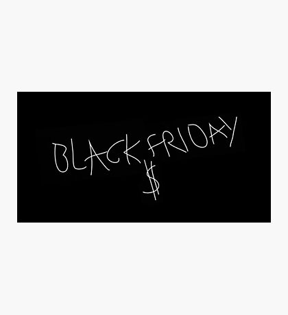 Black Friday - Kedrick Lamar, J Cole Photographic Print