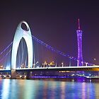 Guangzhou at night by kawing921