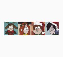 Gravity Falls Christmas One Piece - Short Sleeve