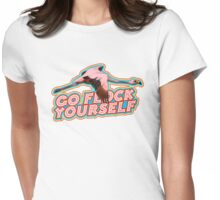 Flamingo Says Womens Fitted T-Shirt