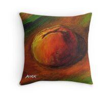 'Just Peachy' Throw Pillow