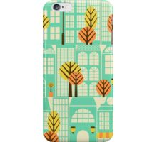 City Buildings Pattern iPhone Case/Skin