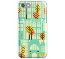 City Buildings Pattern iPhone Case/Skin