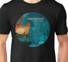 Rising Tide Blues - Aqua Unisex T-Shirt