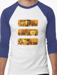 The Solid, The Liquid, The Solidus Men's Baseball ¾ T-Shirt